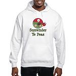 Surrender Ye Peas Pirate Hooded Sweatshirt
