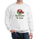 Surrender Ye Peas Pirate Sweatshirt
