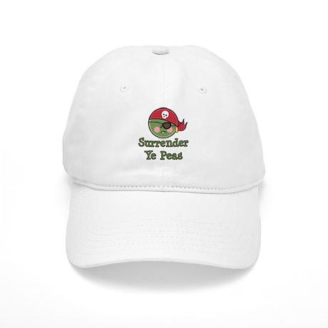 Surrender Ye Peas Pirate Cap