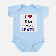 I Love My Mutt Infant Bodysuit