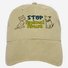 Stop Animal Abuse Baseball Baseball Cap