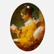Jean Honore Fragonard Oval Ornament