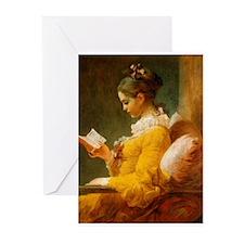 Jean Honore Fragonard Greeting Cards (Pk of 20)