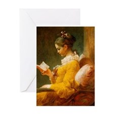 Jean Honore Fragonard Greeting Card