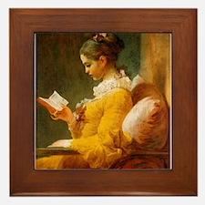 Jean Honore Fragonard Framed Tile