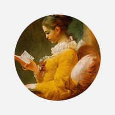 "Jean Honore Fragonard 3.5"" Button"