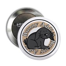 Black Rabbit Button