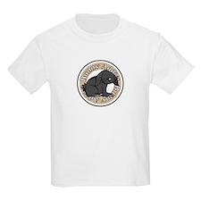 Black Rabbit Kids T-Shirt