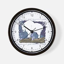 Mountain Goat Wall Clock