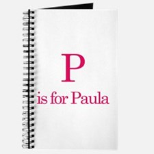 P is for Paula Journal