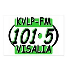 KVLP 101.5 VISALIA Postcards (Package of 8)