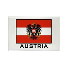Flag of Austria Rectangle Magnet