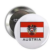 """Flag of Austria 2.25"""" Button"""