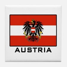 Flag of Austria Tile Coaster