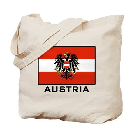 Flag of Austria Tote Bag