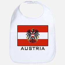 Flag of Austria Bib