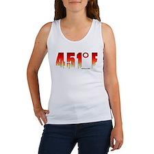 451 Degrees Fahrenheit Women's Tank Top