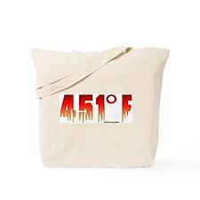 451 Degrees Fahrenheit Tote Bag