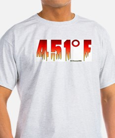 451 Degrees Fahrenheit T-Shirt