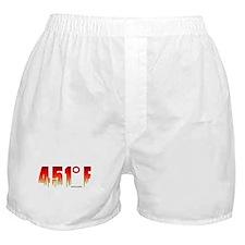 451 Degrees Fahrenheit Boxer Shorts