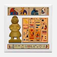 African Culture Tile Coaster