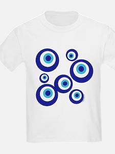 Mod Evil Eyes Kids T-Shirt