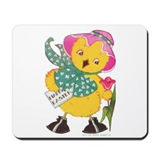 Vintage Easter Chick Mousepad
