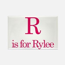 R is for Rylee Rectangle Magnet