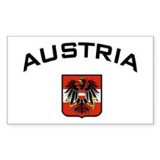 Austria Eagle Rectangle Decal