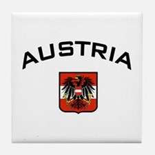 Austria Eagle Tile Coaster