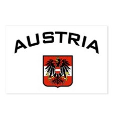 Austria Eagle Postcards (Package of 8)