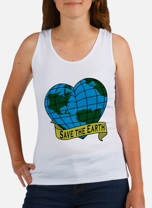 Save the Earth Women's Tank Top