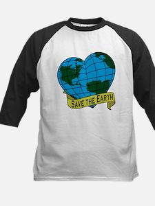 Save the Earth Kids Baseball Jersey