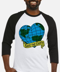 Save the Earth Baseball Jersey