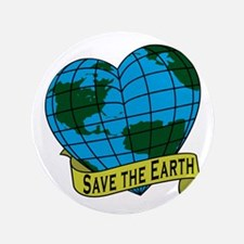 """Save the Earth 3.5"""" Button"""