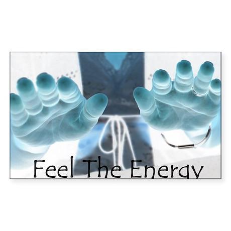 Energy Rectangle Sticker