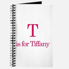 T is for Tiffany Journal