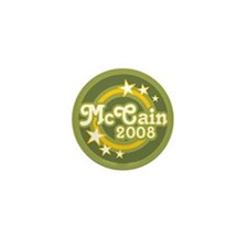 McCain 2008 Mini Button (10 pack)
