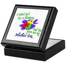 Blessing 2 (Autistic Son) Keepsake Box