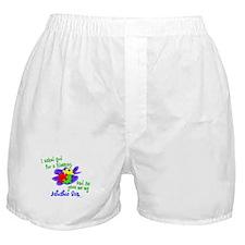 Blessing 2 (Autistic Son) Boxer Shorts