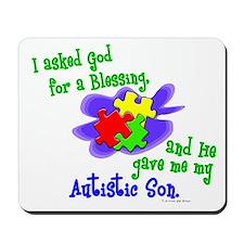 Blessing 2 (Autistic Son) Mousepad
