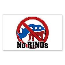 No RINOs! v2 Rectangle Decal