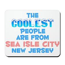 Coolest: Sea Isle City, NJ Mousepad