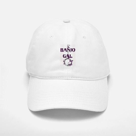 Butterfly Banjo Baseball Baseball Cap