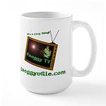 Froggy TV Large Mug