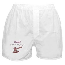 Cute Boy name dan Boxer Shorts