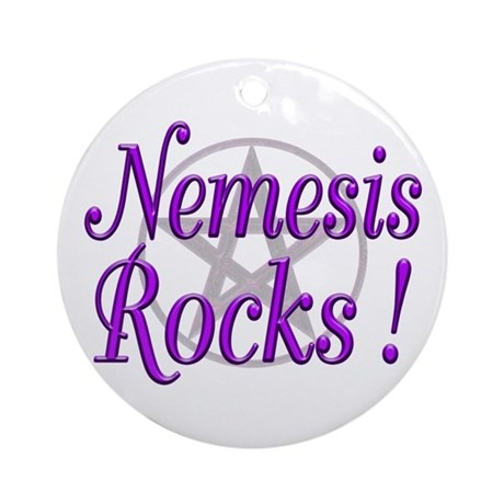 Nemesis Rocks ! Keepsake (Round)