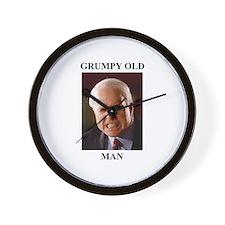 John McCain Grumpy Old Man Wall Clock