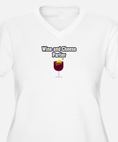 """Wine and Cheese Partier"" T-Shirt"