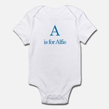 A is for Alfie Infant Bodysuit